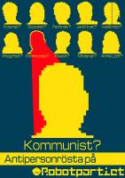 Antipersonrösta på Kommunist