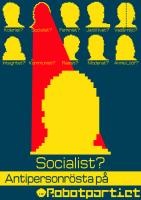 Antipersonrösta på Socialist