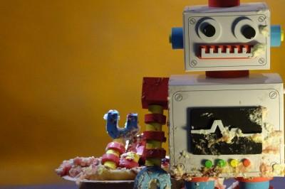Robotpartiets tårta