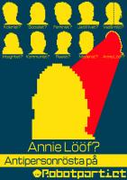 Antipersonrösta på Annie Lööf