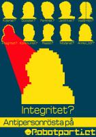 Antipersonrösta på Integritet