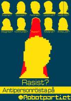 Antipersonrösta på Rasist