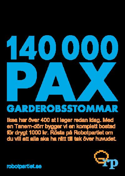 140000 bostäder