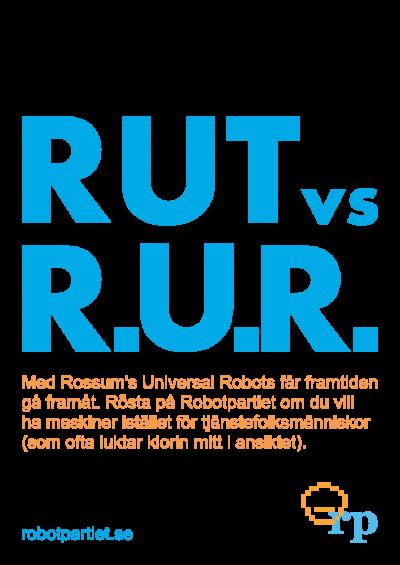 Rut vs R.U.R.